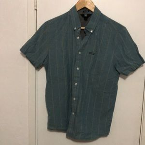 Boys Volcom Modern Fit Button Down Size S